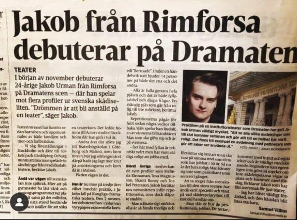 Jakob Urman Dramaten